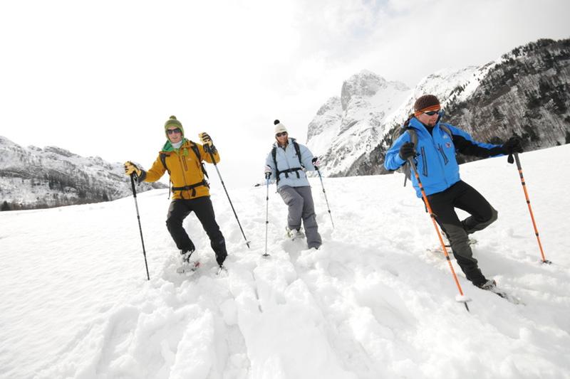 Nagglerhof-Schneeschuhwandern-Weissensee