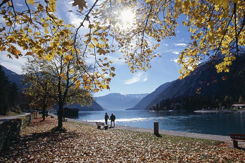Gemütliche Herbstwanderungen am Achensee
