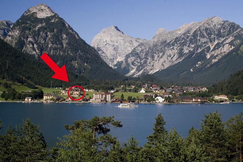 An Tirols größtem See - dem Achensee