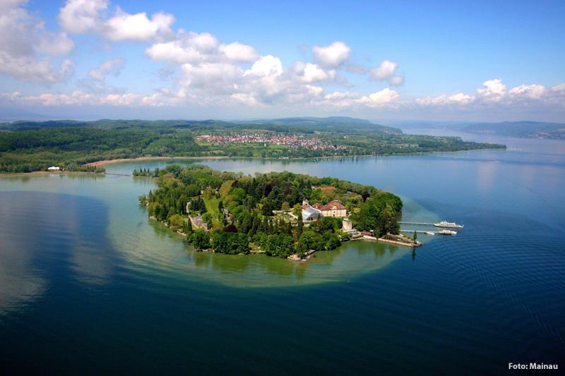 Sehenswert: Bodensee und Blumeninsel Mainau  mit Schlosspark und botanischem Garten