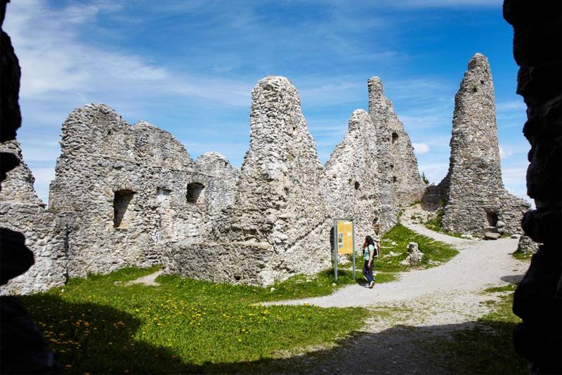 Ausflug zu den Burgruinen Eisenberg