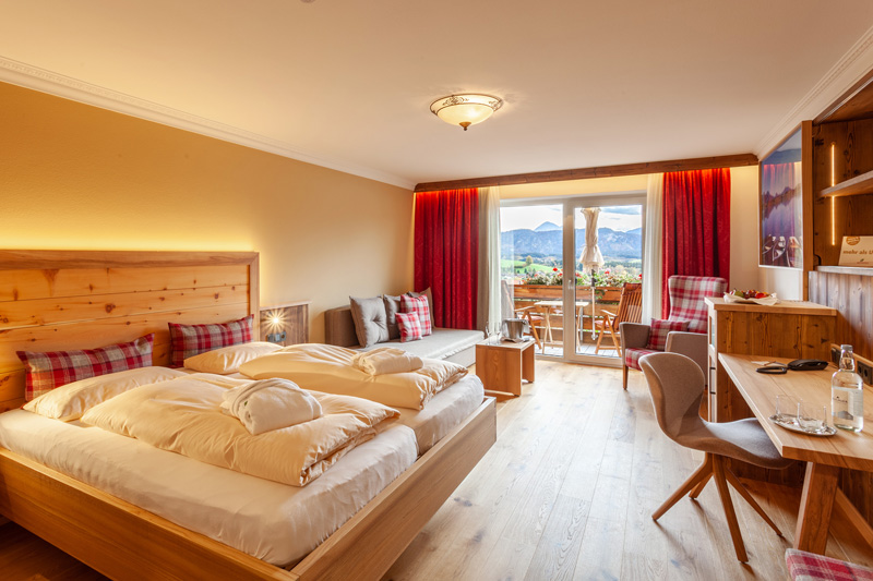 Komfortable Zimmer & Appartements mit Naturmaterialien - ideal für Allergiker