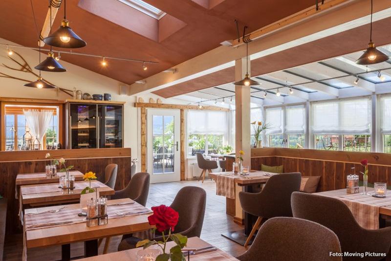 Gemütliches Restaurant mit Bio-Küche