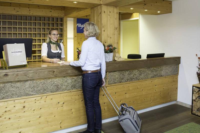 Das Hotel Eggensberger empfängt Dich mit echter Allgäuer Gastfreundschaft