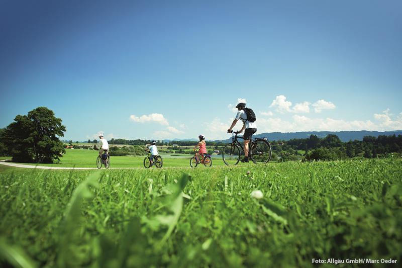 Familienfreundliche Radwege im Allgäu