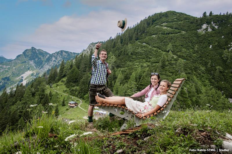 Wandern auf die Katrin - der Hausberg von Bad Ischl