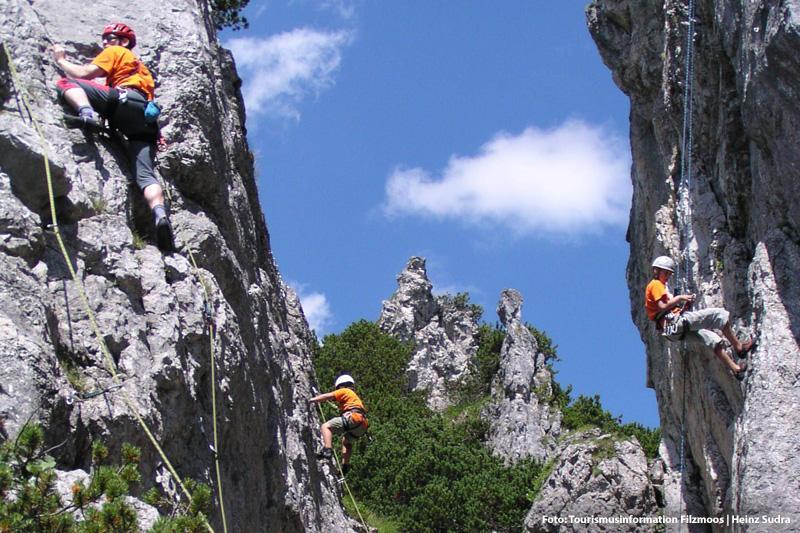 300 Kletterrouten rund um die Bischofsmütze machen Filzmoos zu Salzburgs Kletterregion Nr. 1