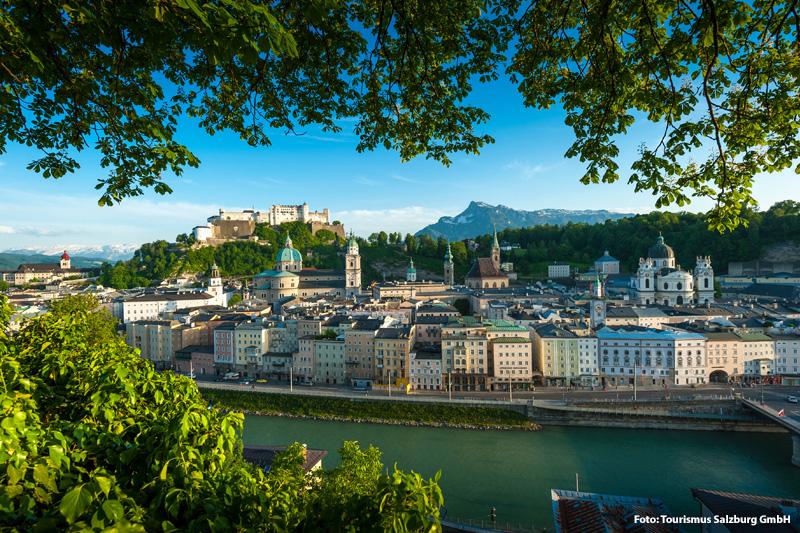 Das Ausflugsziel Salzburg ist nur 30 Autominuten von Filzmoos entfernt
