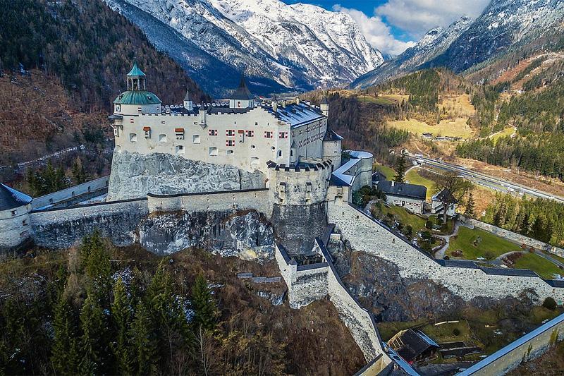 Ausflugsziel Burg Hohenwerfen