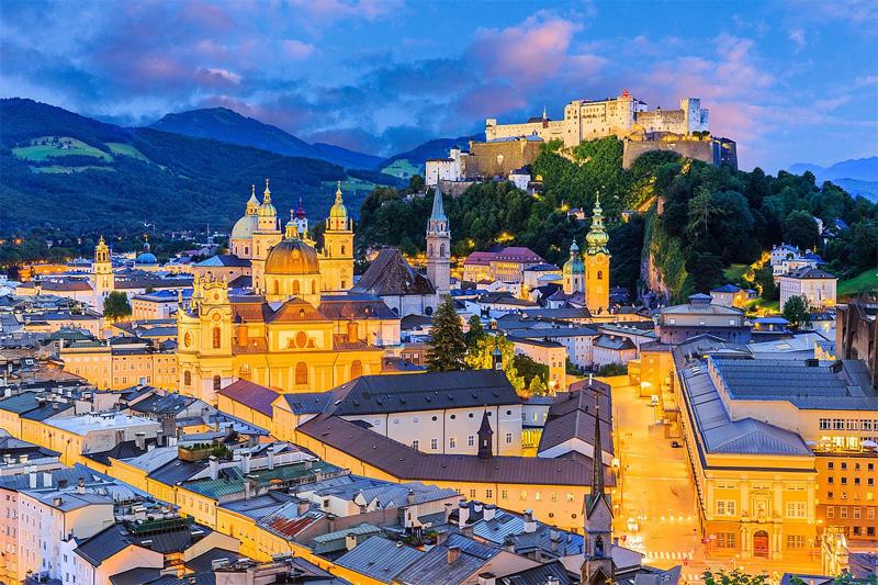 45 Minuten nach Salzburg