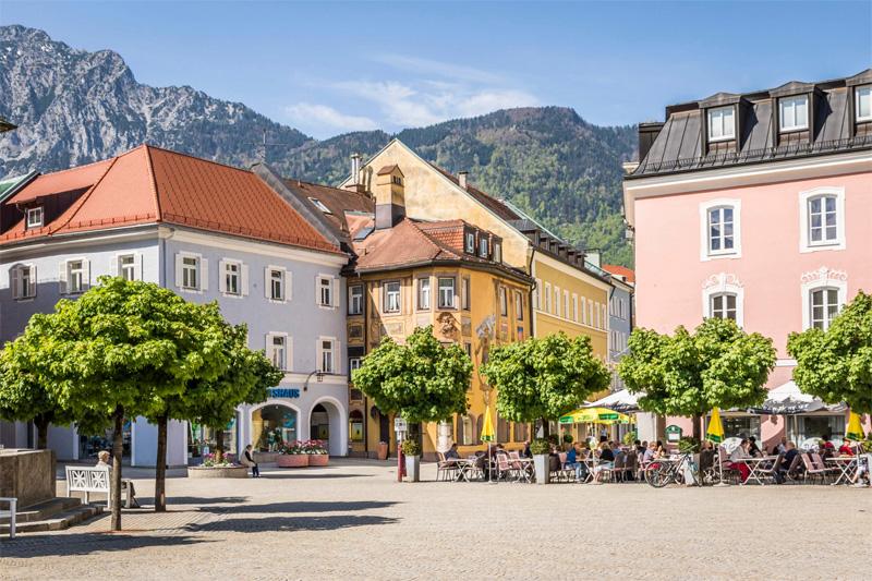 Rathausplatz Bad Reichenhall