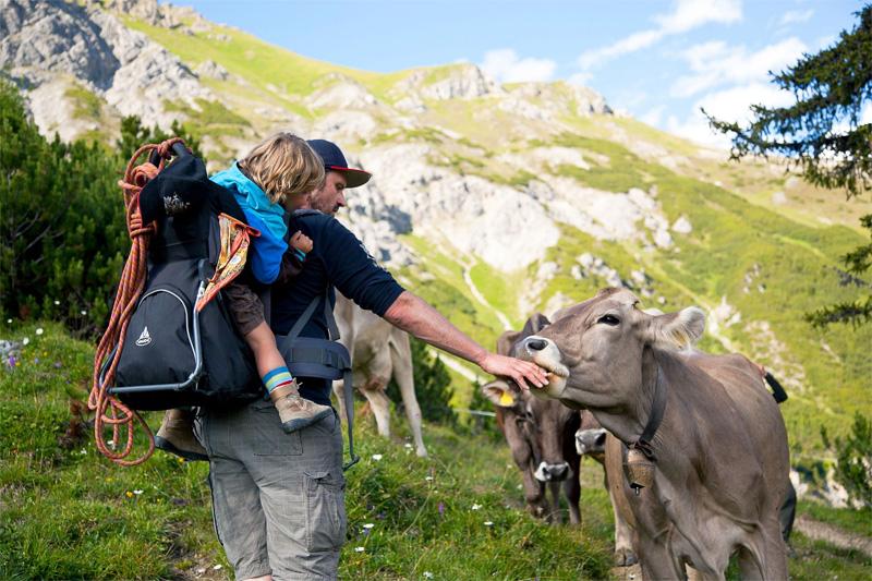 Familienurlaub am Bauernhof im Gschnitztal