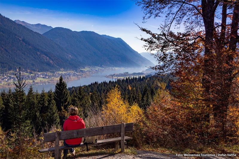 Herbstwandern am Weissensee in Kärnten