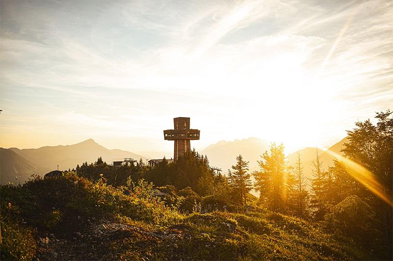 Herbst-Momente am Jakobskreuz im PillerseeTal