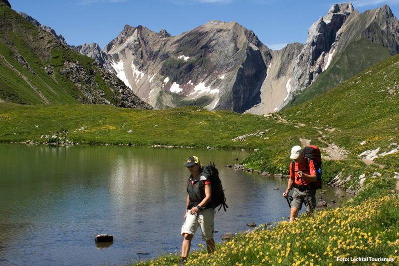 Wandern in der Naturparkregion Lechtal