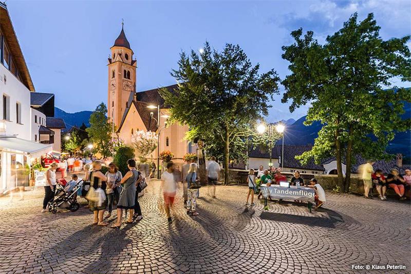 Laue Sommerabende in Dorf Tirol