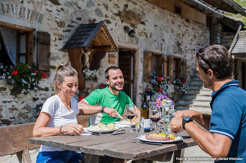 Südtiroler Wanderjause