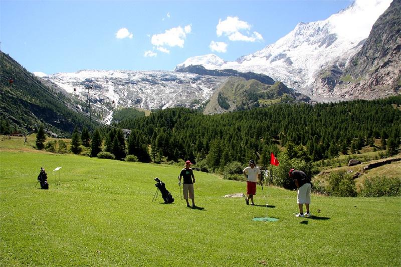 Golfplatz Saas-Fee