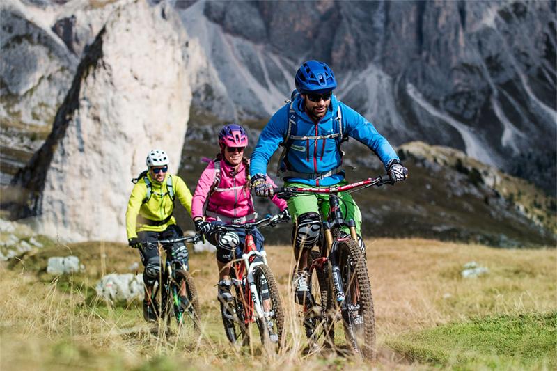 Geführte Mountainbiketouren in Gröden