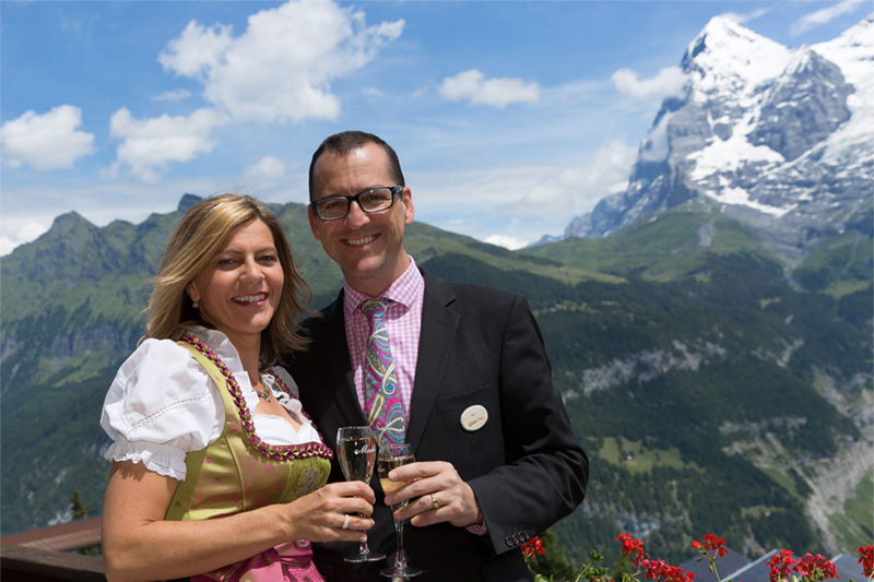 Ihre Gastgeber Susanna und Adrian Stähli