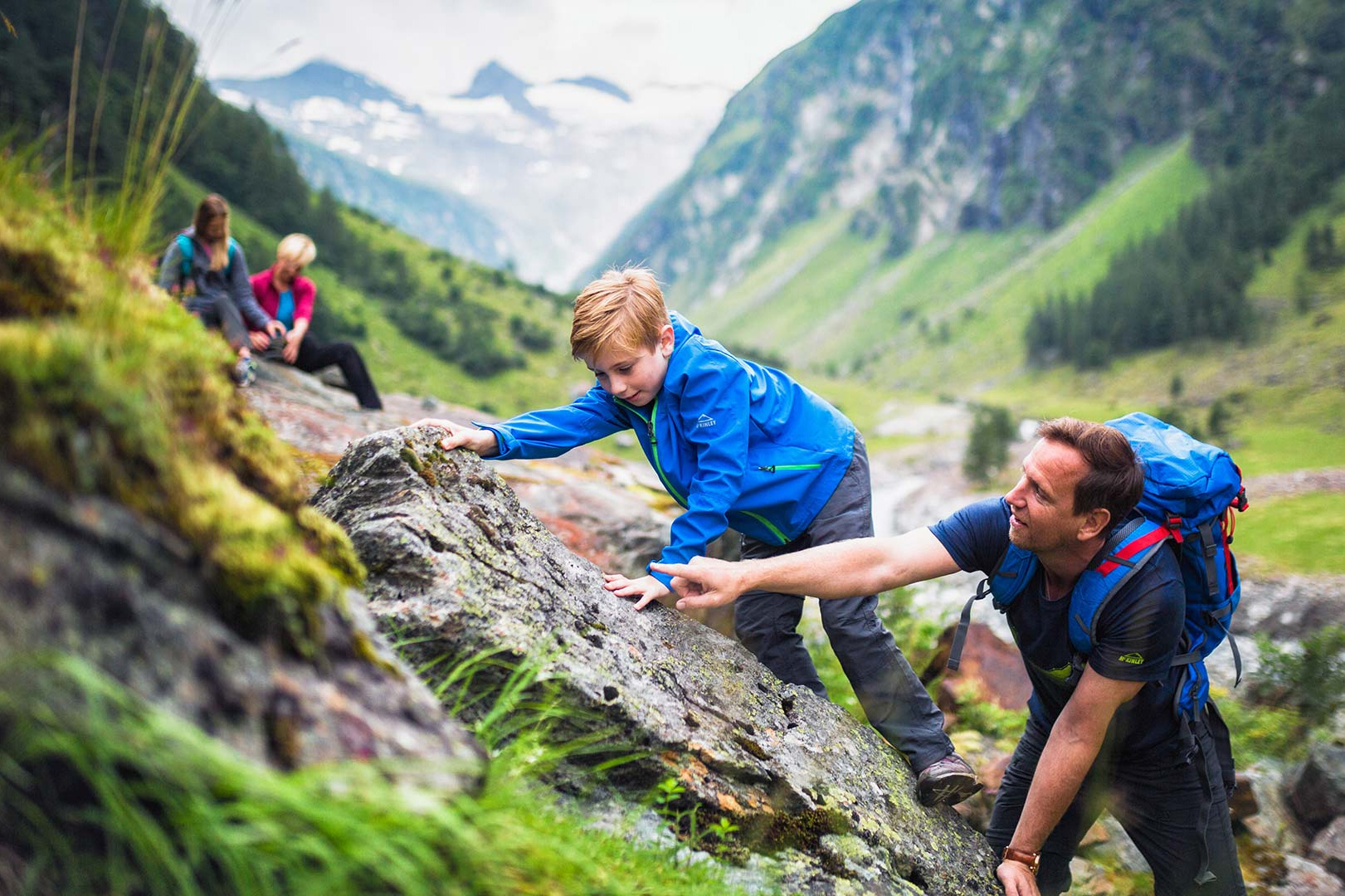 Familienabenteuer am Großvenediger für kleine und große Bergfexe