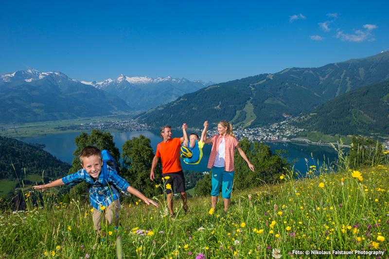 Familienfreundliche Wanderungen am Zeller See