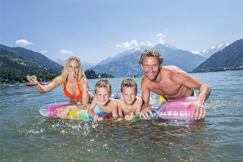 Familienurlaub in Zell am See