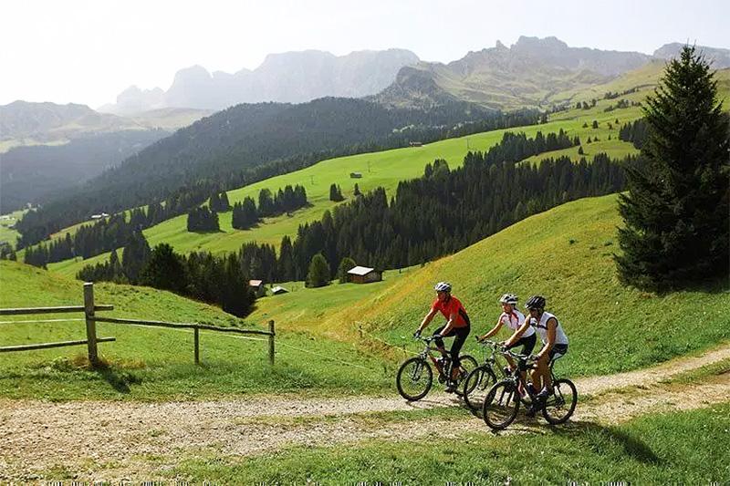 Mountainbike-Touren in der Almenregion