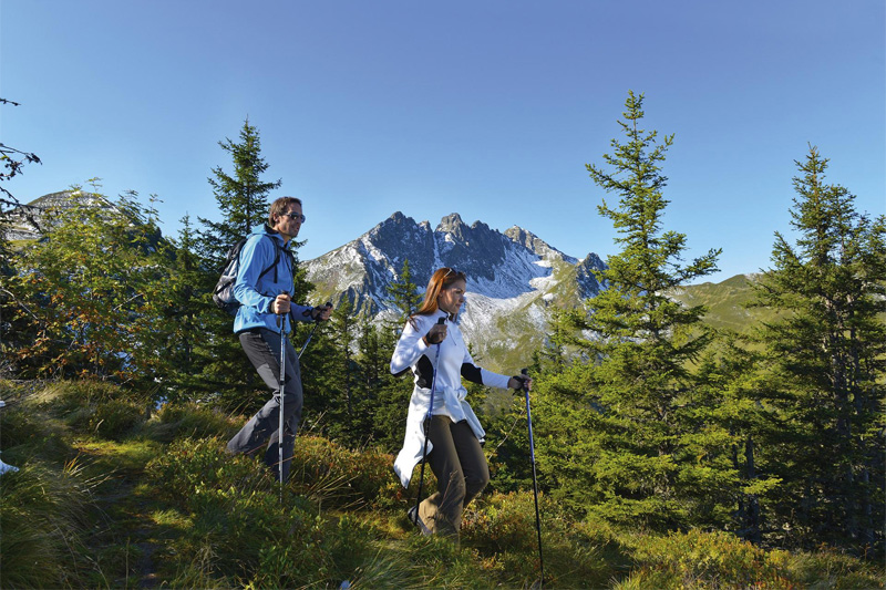 Das Wohlfühlhotel Schiestl ist Spezialist für Wanderurlaub in Tirol
