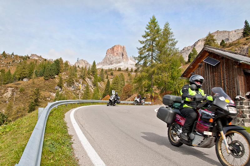 Die Motorradpension Bergheim findest Du am Ortsrand von Tannheim