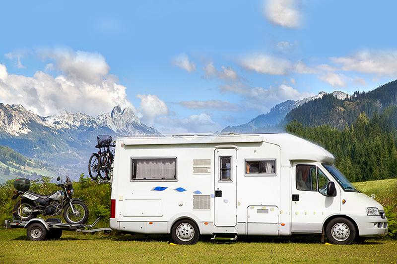 Bergheim ist auch für den STOP von Wohnmobilen absolut geeignet. Der Parkplatz bietet genug Platz.