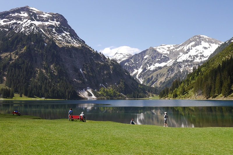 Sommerurlaub im Tannheimer Tal