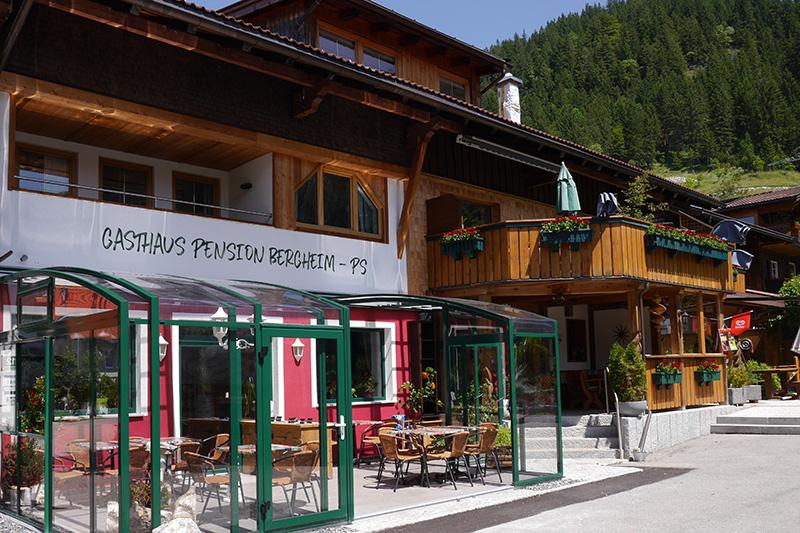 Sommerurlaub in der Gasthaus Pension Bergheim - PS im Tannheimer Tal
