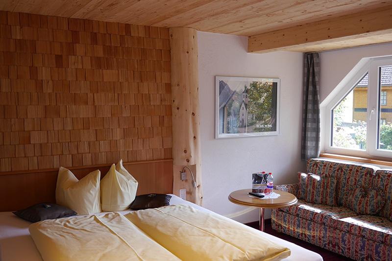 Kleine Doppelzimmer (16m²), Komfortzimmer (27 - 29m²) oder Appartement (40 – 45 m²)