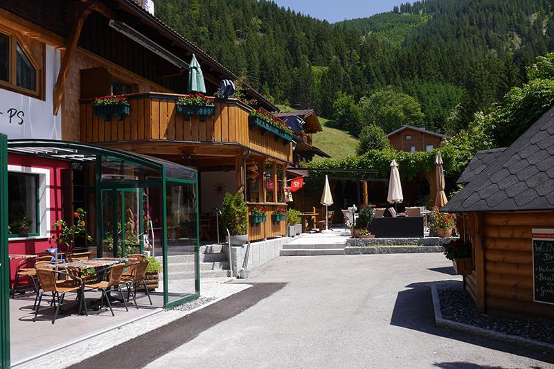 Auch für einen Zwischenstopp ist die gemütliche Frühstückspension in den Tannheimer Alpen ideal