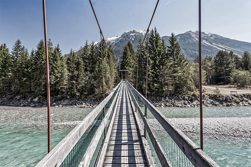 Hängebrücke Forchach