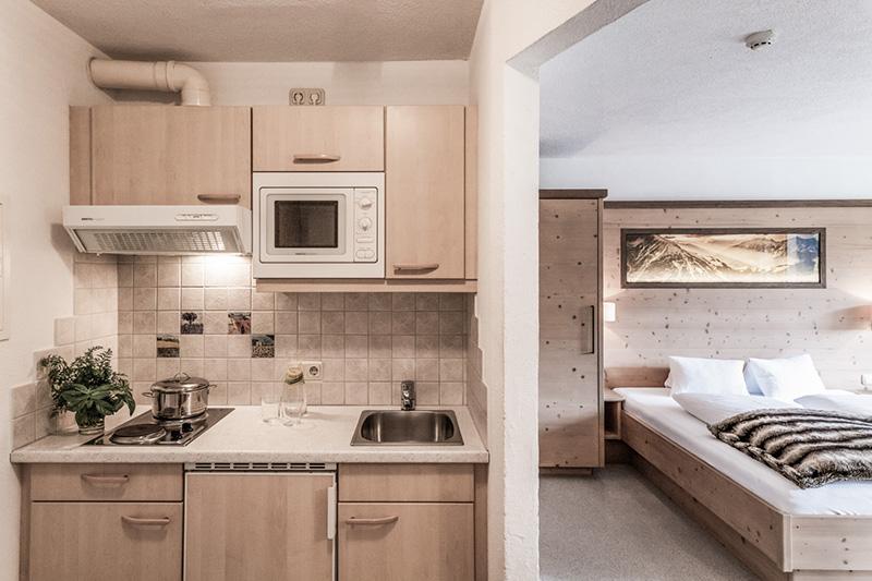 Junior Suite Superior mit praktischer Küchenzeile