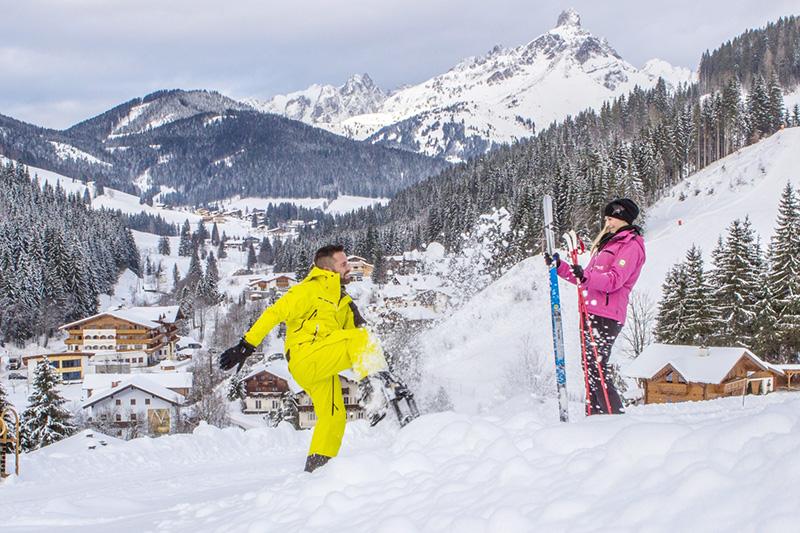 Weisse Wochen mit Skipass in Filzmoos