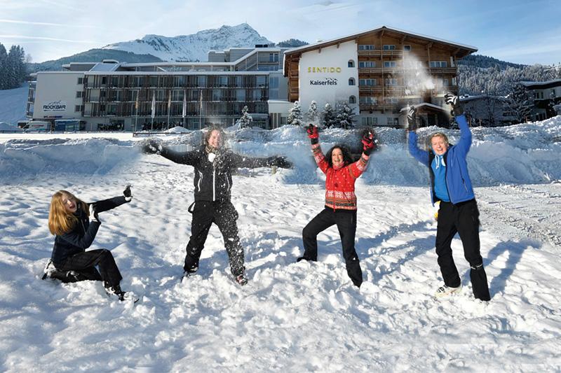 Winterurlaub im Sentido alpenhotel Kaiserfels in St. Johann in den Kitzbüheler Alpen